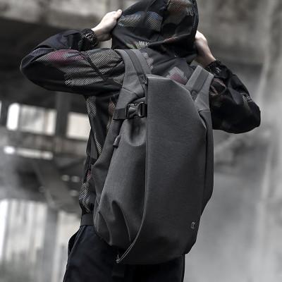 後背包滌綸-黑-時尚披風 男包